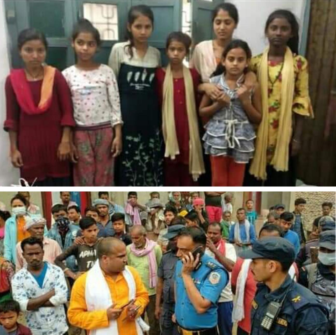 महोत्तरी बाट बेपत्ता परेको ७ बालिका–किशोरी भारतको सीतामढीमा भेटिएको मेयरको दावी